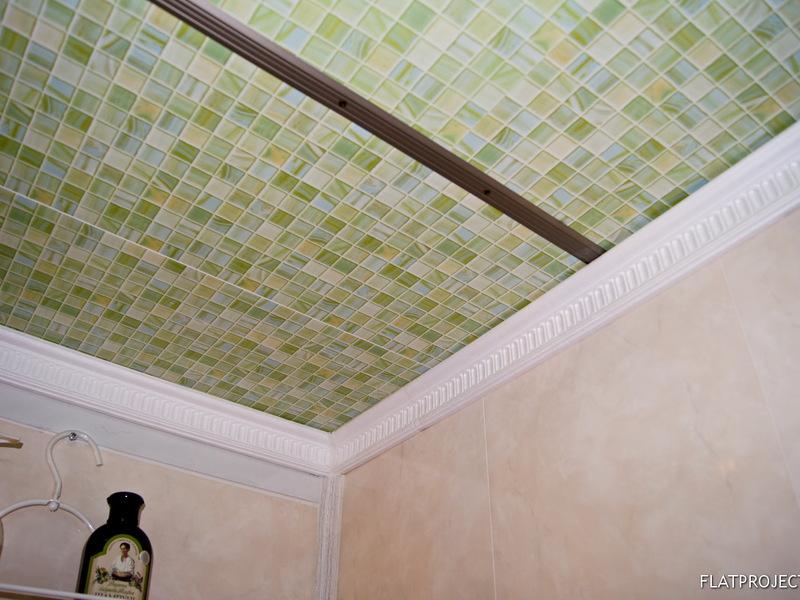 Объемные потолки из пластиковых панелей