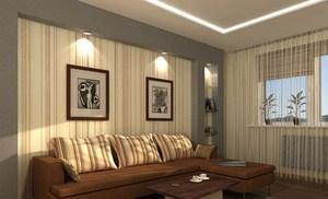 Потолочные софиты для гостиной