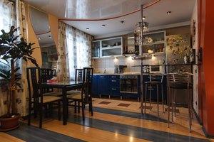 Как установить потолочные софиты на кухне