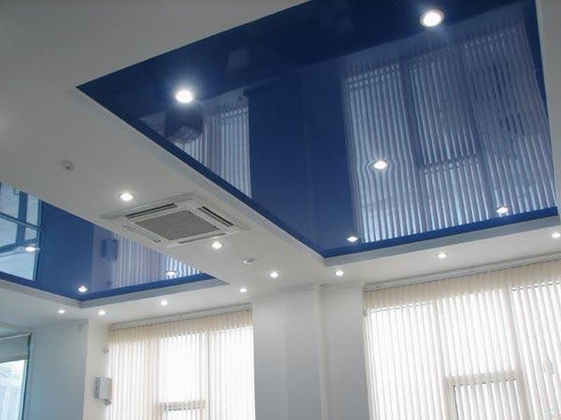 Монтаж софитов для натяжных потолков
