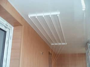 потолочная сушилка для белья лиана конструкция установка и