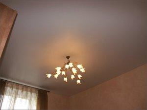 Матовые краски на потолке