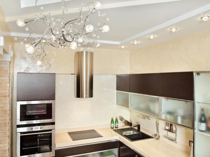 Люстры для кухни 9 кв.м в интерьере фото