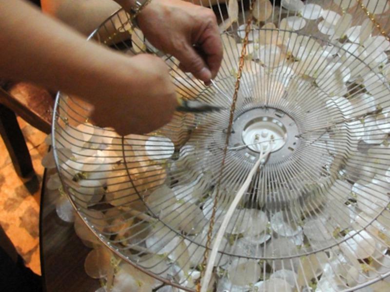 Сделать светильник из бумаги