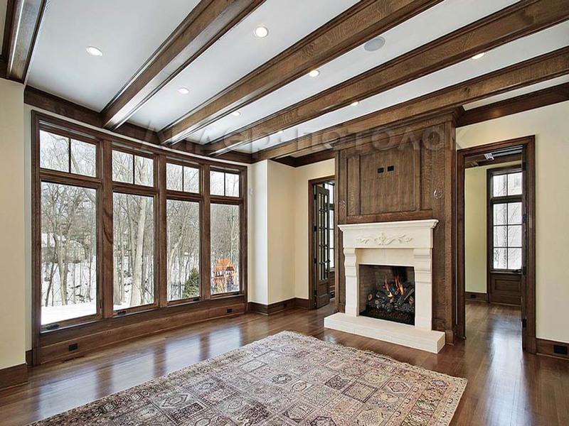 Потолок в своем доме дизайн