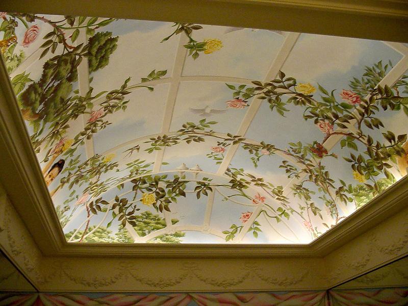 фото рисунки для натяжных потолков