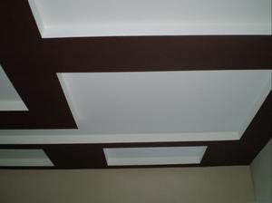 фото потолок покрашенный