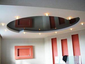 Подвесные потолоки из гипсокартона