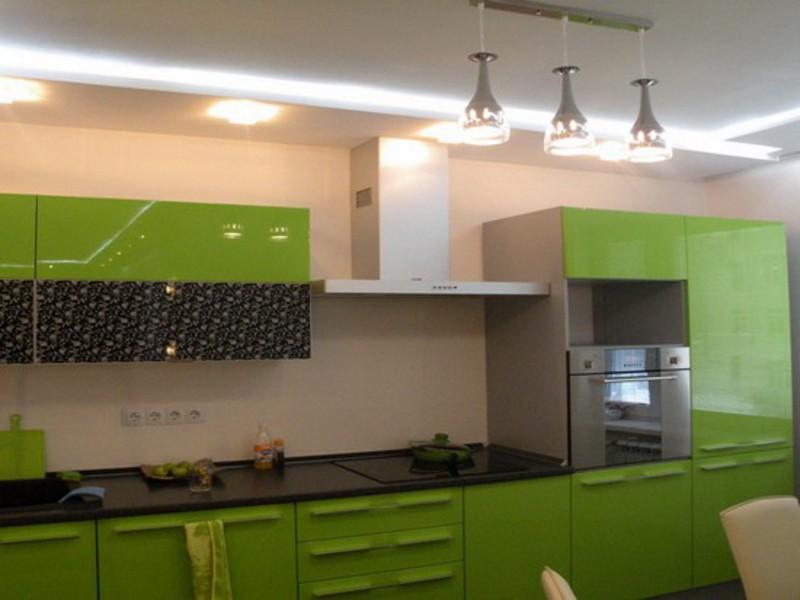 Потолок в кухне из гипсокартона своими руками фото