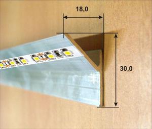 Цвет светодиодной ленты для потолка