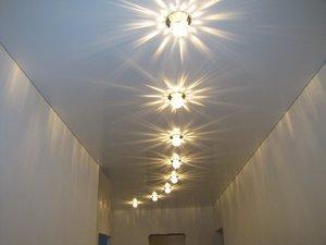 Дизайн точечных светильников для натяжных потолков