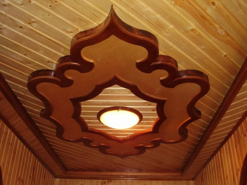 Декор для деревянного потолка
