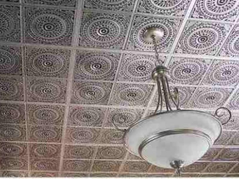 бесшовные плитки фото на потолок