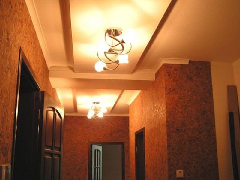 Подвесной потолок своими руками фото коридор