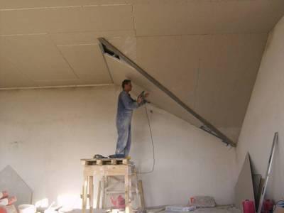Как сделать навесной потолок самому с