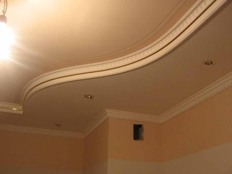 Какие можно гипсокартона сделать потолки фото 869