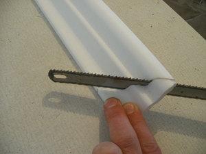 Порезка багетов для потолка