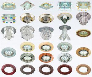 фото натяжных потолков со светильниками